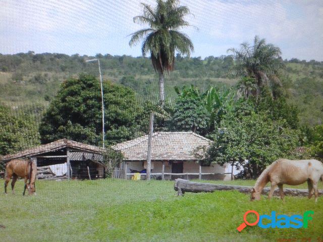 Fazenda 131 ha em santa fé de minas - fazenda a venda no bairro areal - santa fé de minas, mg - ref.: li80573