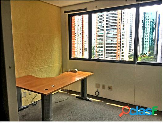 Sala comercial 41m², 1 vaga na berrini - sala comercial a venda no bairro brooklin paulista - são paulo, sp - ref.: a-06413