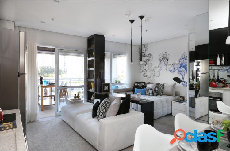 Apartamento de 42m² no centro de sbc - apartamento a venda no bairro centro - são bernardo do campo, sp - ref.: a-70677