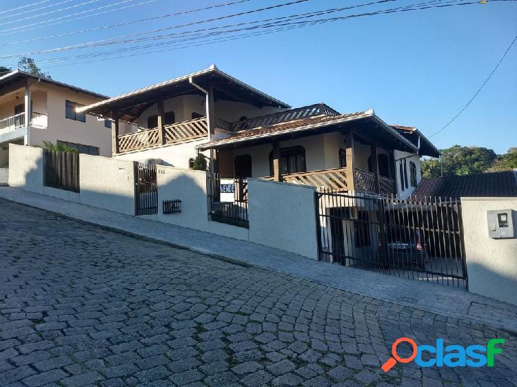 Amplo imóvel fins residencial ou comercial - casa a venda no bairro água verde - blumenau, sc - ref.: 406