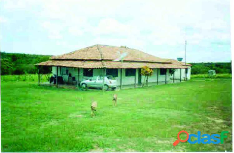 Fazenda 3.242 ha em pintópolis/urucuia - fazenda a venda no bairro porteira são joão - pintopolis, mg - ref.: sl67172