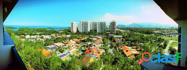Lagoa dourada - cobertura duplex para aluguel no bairro barra da tijuca - rio de janeiro, rj - ref.: hb15043