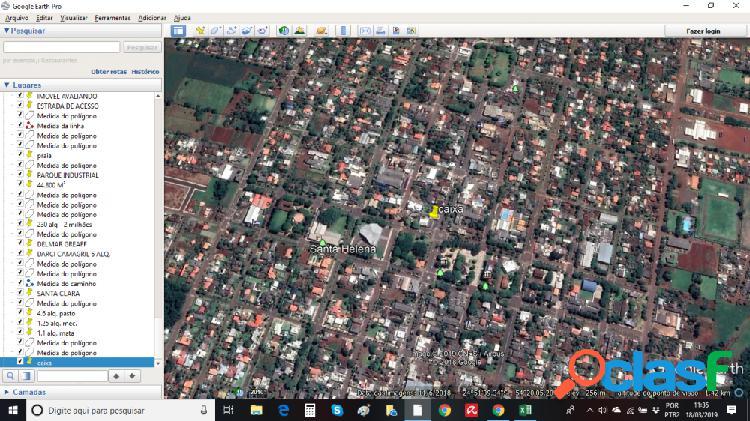 IMÓVEL AV. BRASIL CENTRO SANTA HELENA PR - Terreno a Venda no bairro Centro - Santa Helena, PR - Ref.: AV-BR