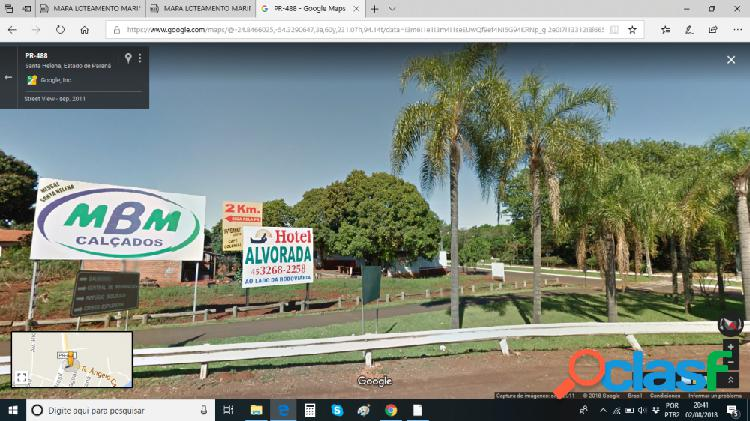 Ótimo terreno proximo praia de santa helena pr - terreno a venda no bairro centro - santa helena, pr - ref.: se63915