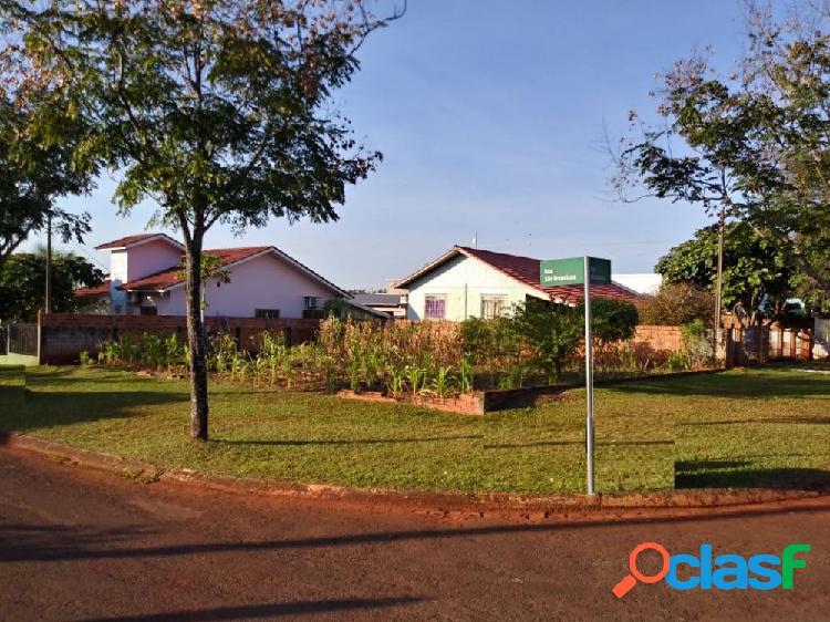 Terreno esquina 300 m³ cidade alta - terreno a venda no bairro cidade alta - santa helena, pr - ref.: r-goias
