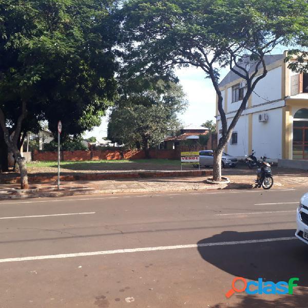 Terreno único no centro - terreno a venda no bairro centro - santa helena, pr - ref.: naude