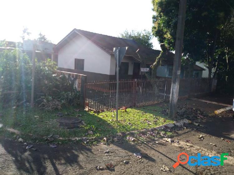 Casa de esquina, por 120.000,00 - casa a venda no bairro são luiz - santa helena, pr - ref.: tibola