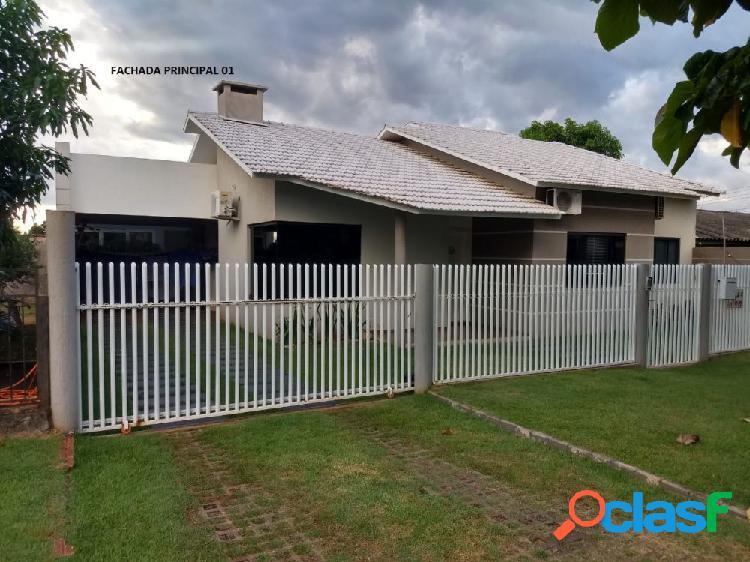 Ótima casa na cidade alta - casa alto padrão a venda no bairro cidade alta - santa helena, pr - ref.: lisa