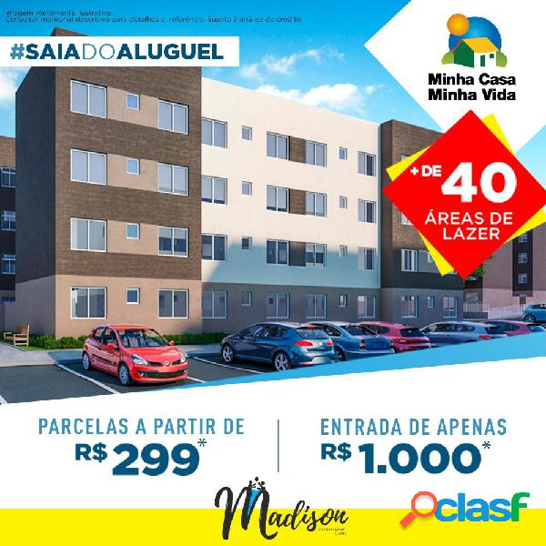 Apartamento 02 Dormitórios a Venda em Campo Largo - Apartamento a Venda no bairro Bom Jesus - Campo Largo, PR - Ref.: DR30929