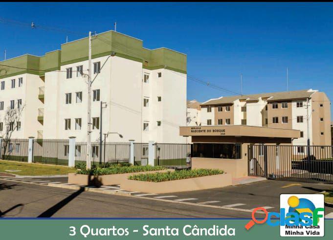 Apartamento 03 Dormitórios a Venda no Santa Cândida - Apartamento a Venda no bairro Santa Cândida - Curitiba, PR - Ref.: DR22353