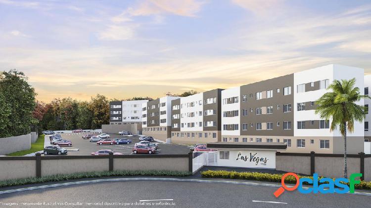 Apartamento a venda 02 dormitórios em almirante tamandaré - apartamento a venda no bairro bonfim - almirante tamandaré, pr - ref.: nli28402
