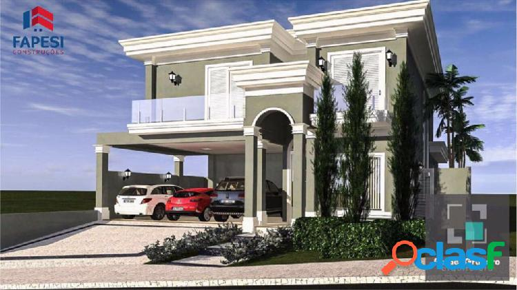Linda casa condomínio zona sul 4 suítes reserva santa luisa - casa alto padrão a venda no bairro bonfim paulista - ribeirão preto, sp - ref.: fa42919