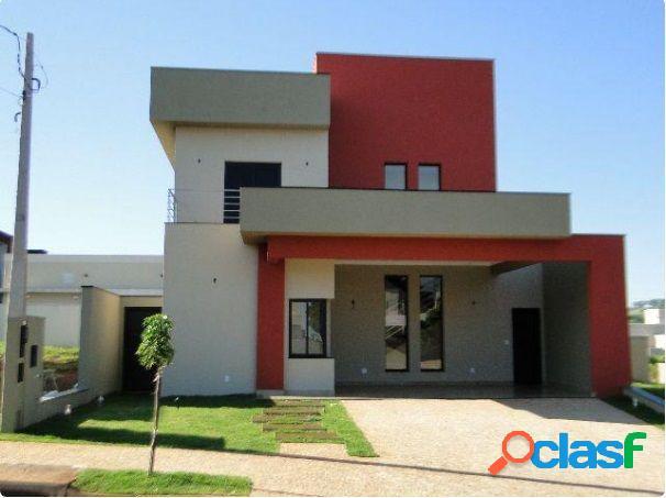 Sobrado 4 suítes bella citta - casa alto padrão a venda no bairro condomínio bella città - ribeirão preto, sp - ref.: fa00546