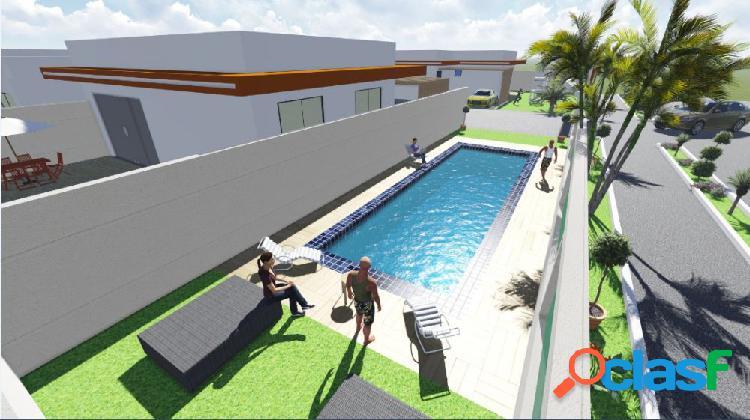 Condominio caminho do mar - casa em condomínio a venda no bairro canada - praia de leste, pr - ref.: kr09946