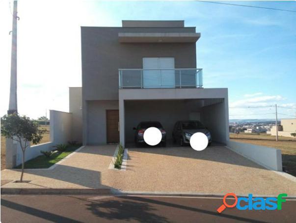 Sobrado 3 suíte em condomínio reserva imperial - casa em condomínio a venda no bairro condomínio reserva imperial - ribeirão preto, sp - ref.: fa97666