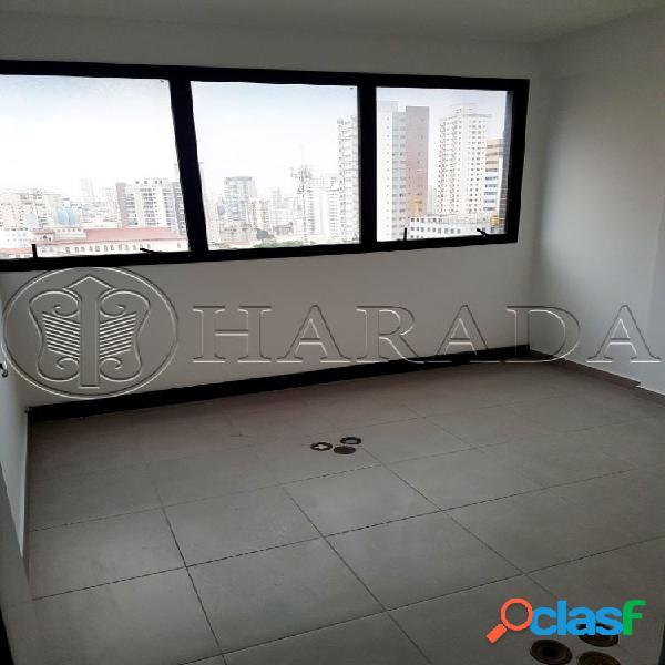 Sala comercial 112 m2 a 1 quadra do metrô praça da árvore - sala comercial para aluguel no bairro mirandópolis - são paulo, sp - ref.: ha337