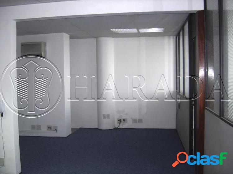 Sala comercial 120 m2 na avenida paulista - sala comercial para aluguel no bairro cerqueira cesar - são paulo, sp - ref.: ha211