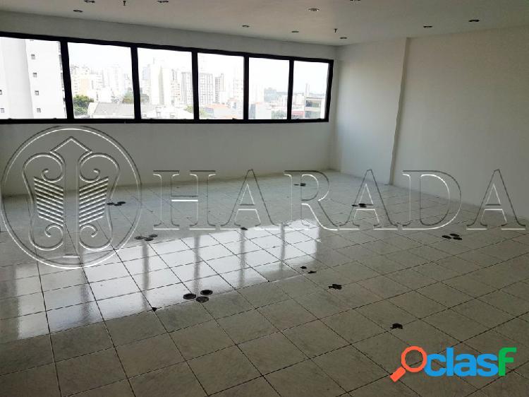 Sala comercial 56 m2 c/ vaga a 1 quadra do metrô - sala comercial para aluguel no bairro mirandópolis - são paulo, sp - ref.: ha338