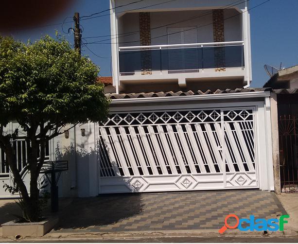 Sobrado a venda no bairro parque residencial frezarin - santa bárbara d'oeste, sp - ref.: ev042