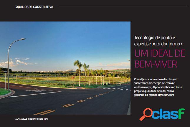 Terreno alphaville iii - lote a venda no bairro bonfim paulista - bonfim paulista (ribeirão preto), sp - ref.: fa07172
