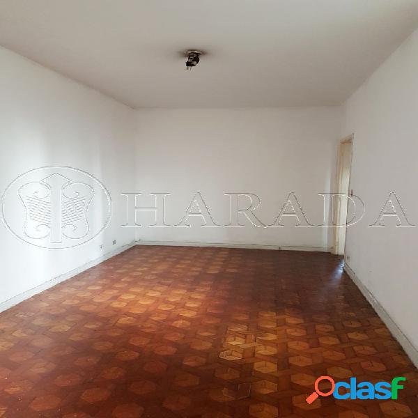 Apto 80 m2, bem iluminado,1 dm na saúde - apartamento para aluguel no bairro vila gumercindo - são paulo, sp - ref.: ha357