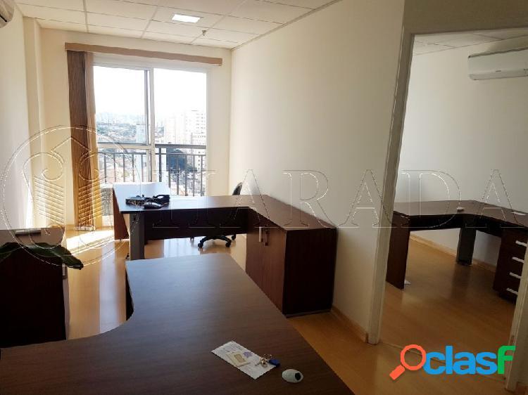 Escritório de 38 m2 ao lado do metrô saúde - sala comercial para aluguel no bairro vila da saúde - são paulo, sp - ref.: ha381