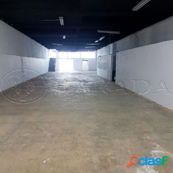 Galpão 780 m2 na saúde - galpão para aluguel no bairro vila gumercindo - são paulo, sp - ref.: ha356