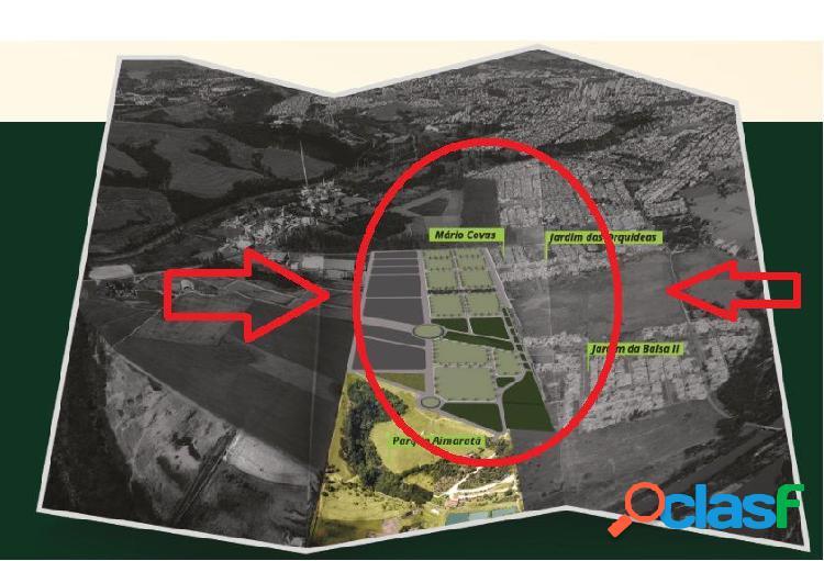 Pacaembu - terreno a venda no bairro jardim da balsa ii - americana, sp - ref.: evte009