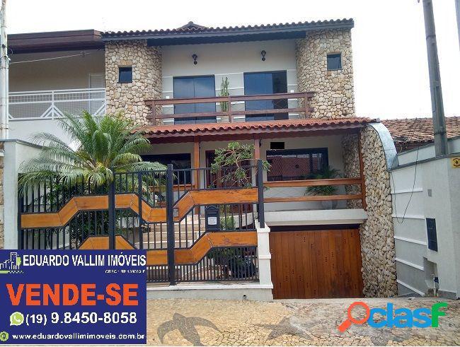 Casa alto padrão a venda no bairro vila nossa senhora de fátima - americana, sp - ref.: ev050
