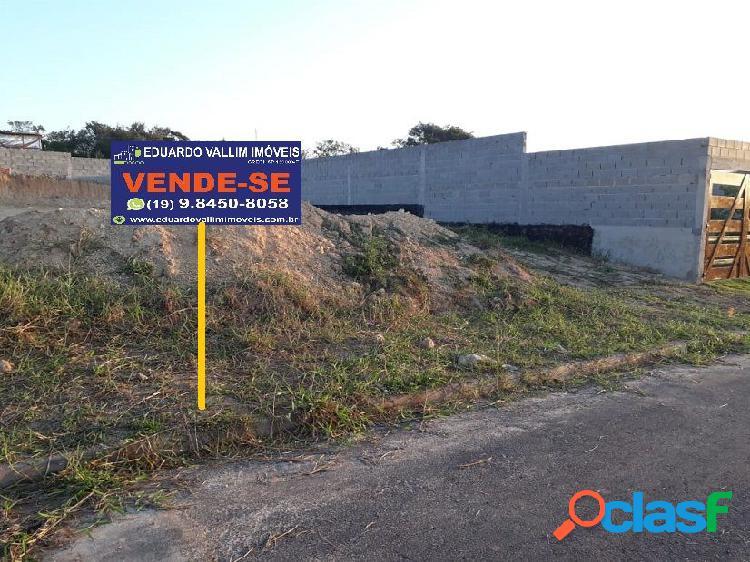 Residencial florbela - terreno a venda no bairro loteamento residencial jardim florbela - americana, sp - ref.: evte015