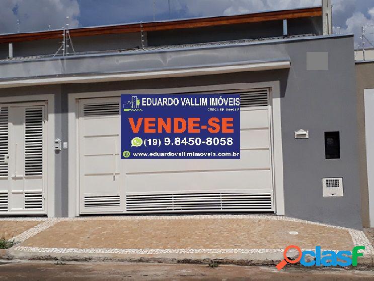 Casa a venda no bairro parque universitário - americana, sp - ref.: evcasa028
