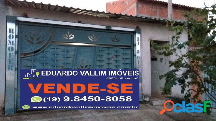 Casa a venda no bairro san marino - santa bárbara d'oeste, sp - ref.: evcasa026