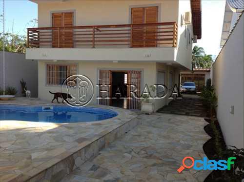 Casa na praia de 468 m2 em bertioga, mobiliada - sobrado a venda no bairro indaia - bertioga, sp - ref.: ha202