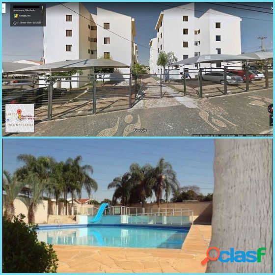 Condomínio residencial américa - apartamento a venda no bairro vila margarida - americana, sp - ref.: evap034