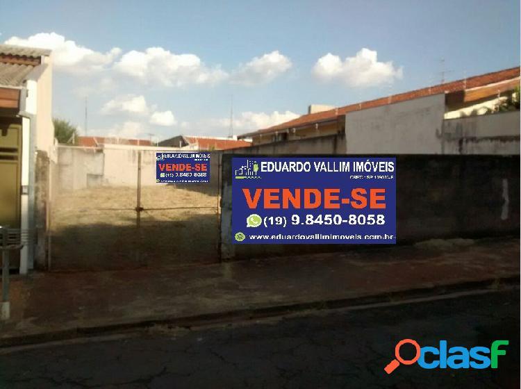 Terreno a venda no bairro vila nossa senhora de fátima - americana, sp - ref.: evte017