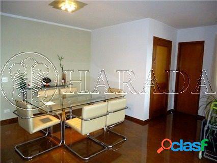 Excelente apto 156 m2,1 por andar,3 dm(2 suìtes),2 vagas - apartamento a venda no bairro chácara inglesa - são paulo, sp - ref.: ha353