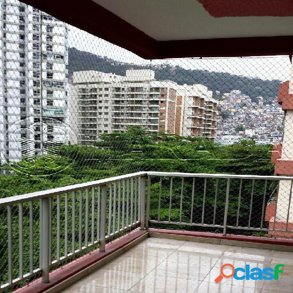 Apto 100 m2,2 dm com vaga em são conrado - apartamento a venda no bairro são conrado - rio de janeiro, rj - ref.: ha233