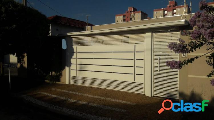 Casa térrea completíssima de armários | fino acabamento - casa a venda no bairro jardim paulistano - americana, sp - ref.: evcasa055