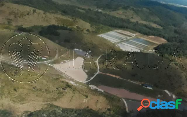 Fazenda 172 hectares, cachoeira, estrutura para piscicultura - fazenda a venda no bairro iririaia mirim - pariquera-açu, sp - ref.: ha370
