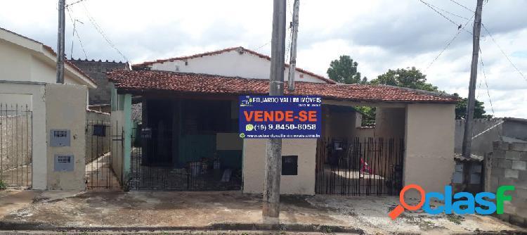 Jd alvorada_com inquilino_ideal p/ edificações_aceita troca - casa a venda no bairro jardim thelja - americana, sp - ref.: evcasa048