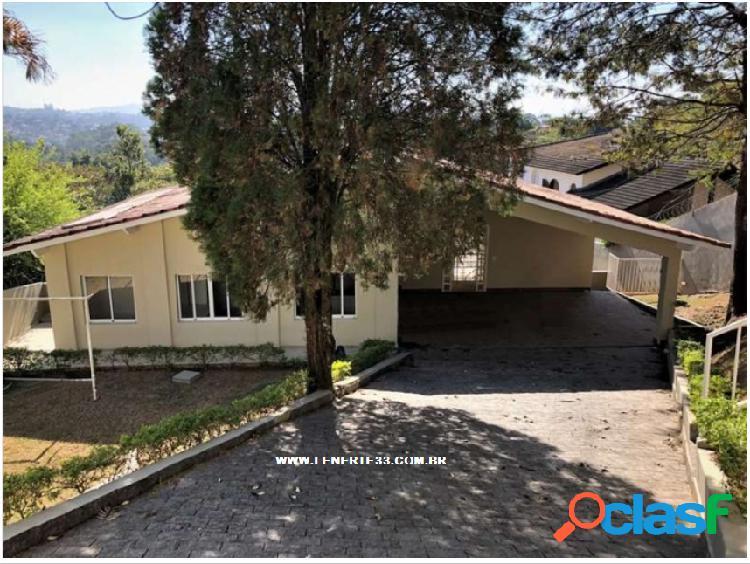 Estuda permuta - casa em condomínio a venda no bairro são paulo ii - cotia, sp - ref.: cas041