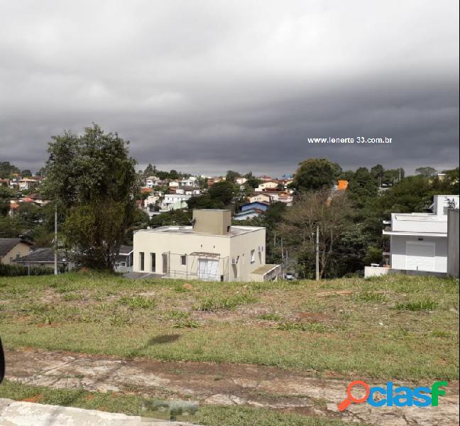 Vista privilegiada- km 26 - terreno em condomínio a venda no bairro gramado - cotia, sp - ref.: ter008