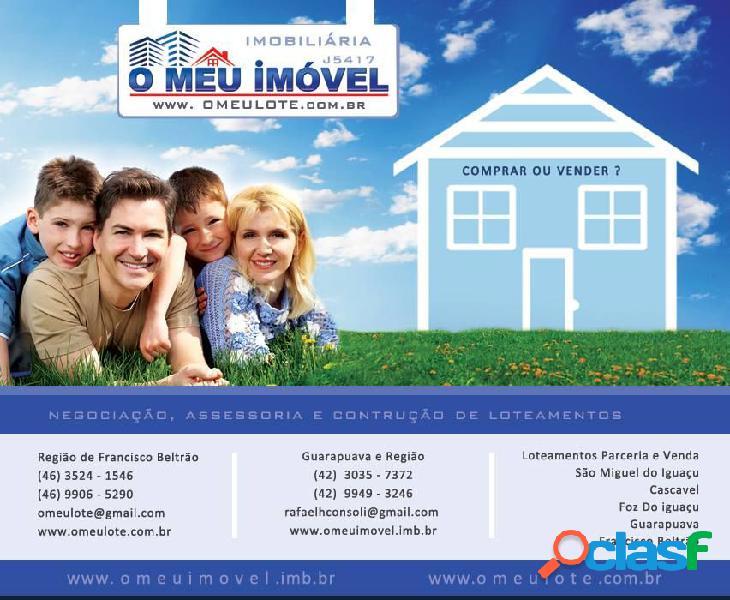 Condomínio vila park - lote a venda no bairro km 8 - francisco beltrão, pr - ref.: o39093