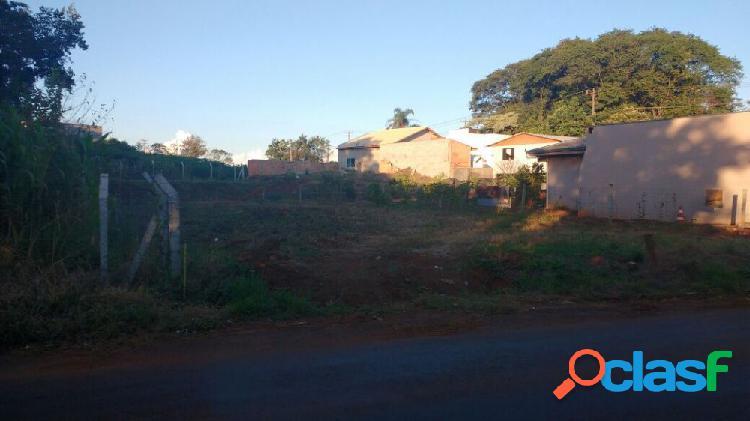 Lote a venda no bairro novo mundo - francisco beltrão, pr - ref.: o58575