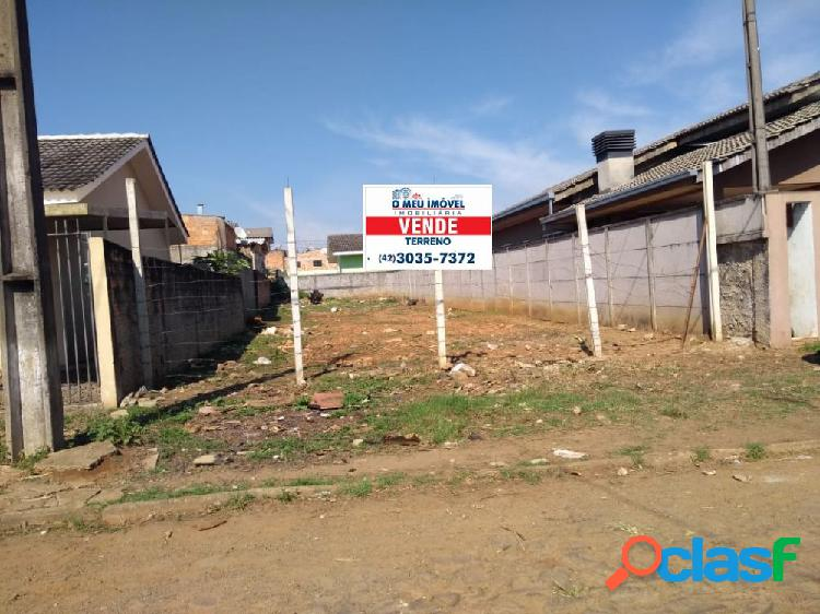 Lote saturino varela - lote a venda no bairro planalto - guarapuava, pr - ref.: o15159