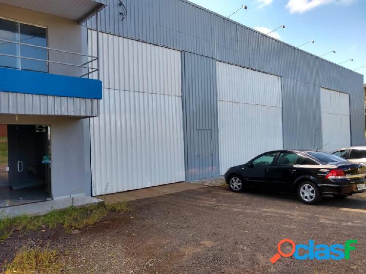 Lote comercial com barracão - lote a venda no bairro br-280 - marmeleiro, pr - ref.: o84722