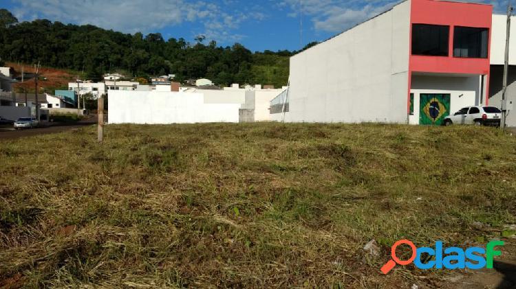 Lote de esquina - lote a venda no bairro seminário - francisco beltrão, pr - ref.: o89723
