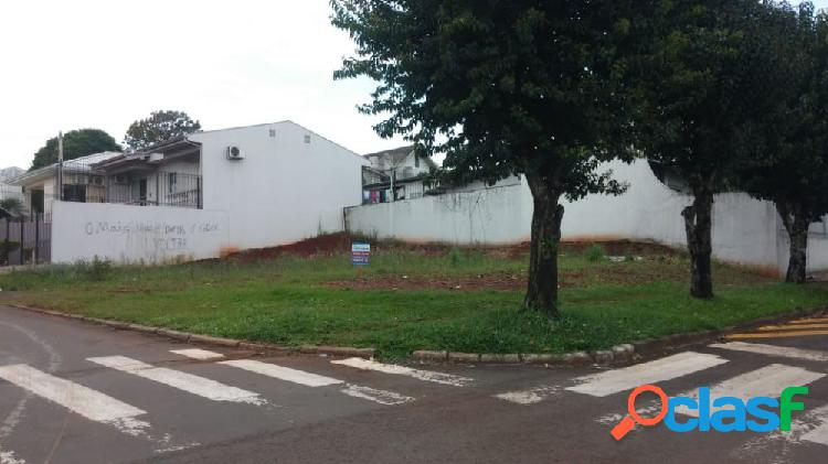 Lote no bairro alvorada - lote a venda no bairro alvorada - francisco beltrão, pr - ref.: o65567