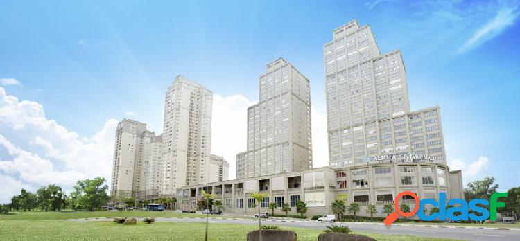 Alpha park - apartamento a venda no bairro sítio tamboré alphaville - barueri, sp - ref.: duda268