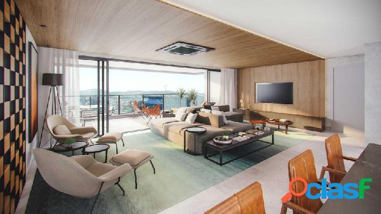 Canvas 282m² - apartamento em lançamentos no bairro alphaville centro industrial e empresarial - barueri, sp - ref.: canvas282